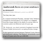 Ambrozuk faces 10-year sentence
